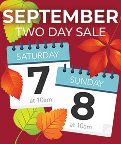 September two day Sale